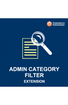 Admin Category Filter for Products Grid