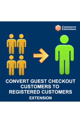Convert Guest Checkout Customers to Registered Customers