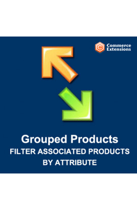 Grouped Products Filter