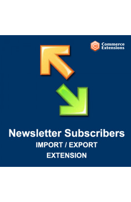 Import + Export Newsletter Subscribers (CSV/XML)