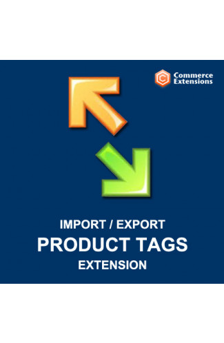 Import + Export Product Tags / Easy Tags / Bulk Product Tags Import