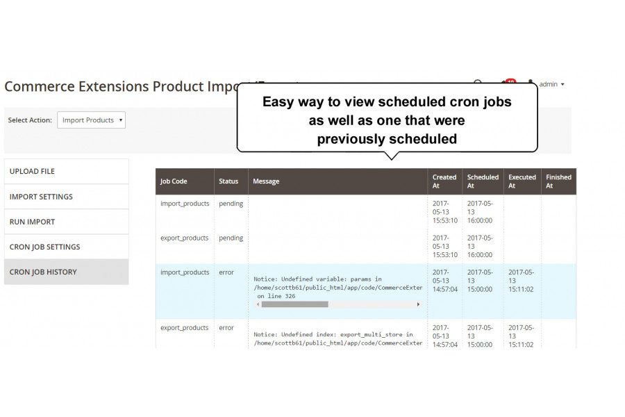 Magento 2 Custom Bulk Product Import + Export with Tier