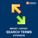 Import + Export Bulk Search Terms (CSV/XML)