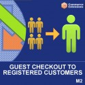 Magento 2 Convert Guest Checkout Customers to Registered Customers
