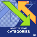 Magento 2 Bulk Categories Import / Export (CSV)