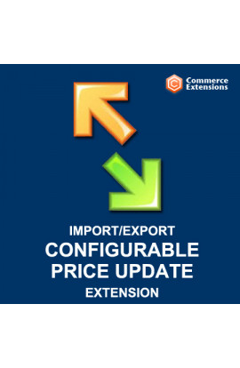 Bulk Configurable Price Update Import + Export
