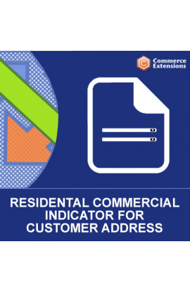 Magento 2 Residential Indicator for Customer Addresses