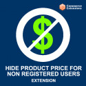 FREE Hide Product Price For Non Registered Users