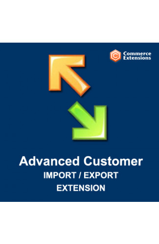 Advanced Customer Import + Export (CSV/XML)