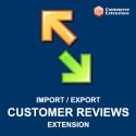 Import + Export Bulk Customer Reviews (CSV/XML)