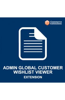 Magento Admin Global Customer Wishlist Viewer