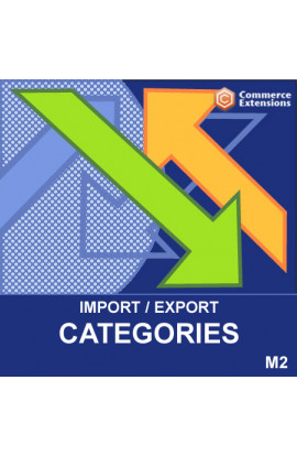 Magento 2 Categories Import / Export (CSV)