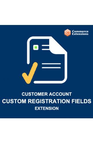 Custom Customer Registration Fields