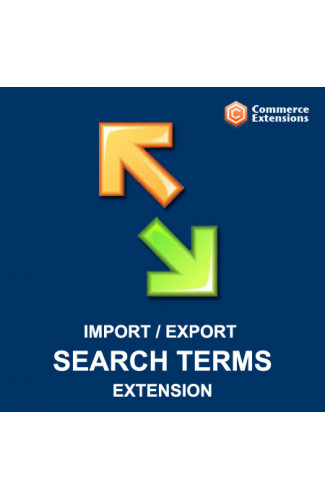 Import + Export Bulk Search Terms (CSV/XML)